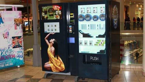 Вендинговый автомат Beverly Hills Caviar продаёт икру и другие деликатесы
