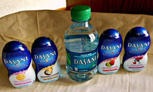 Капли для улучшения вкуса воды от Coca-Cola