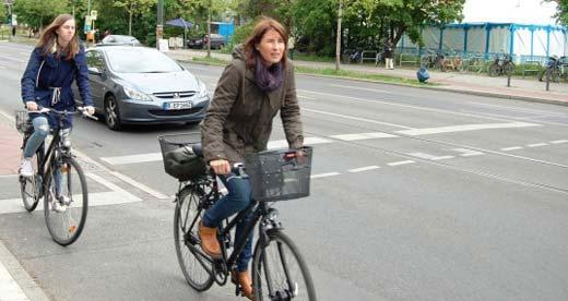 Интерактивная карта Берлина для велосипедистов