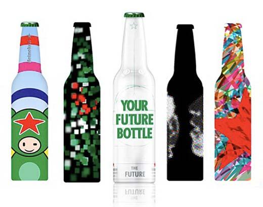 Конкурс на разработку дизайна бутылки 2013 года от Heineken