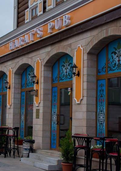 Франшиза сети пивных мини-ресторанов «Harat's Irish Pub»