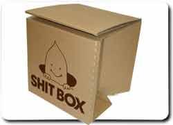 коробка туалет