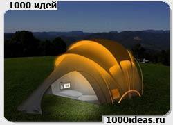 палатка заряжающая гаджеты
