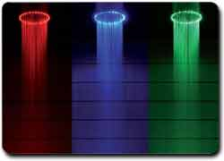 разноцветный душ
