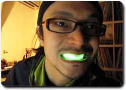 подсветка для зубов