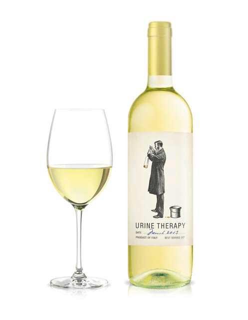 этикетки винных бутылок