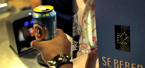 пиар-акция пиво  Antarctica