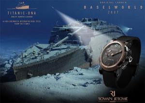 часы с частицами Титаника