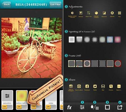 мобильное приложение для фотографий
