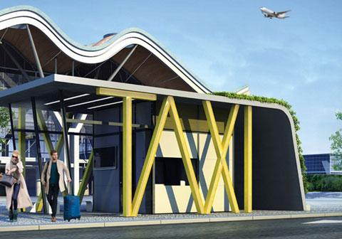 станции такси  Taxi Station