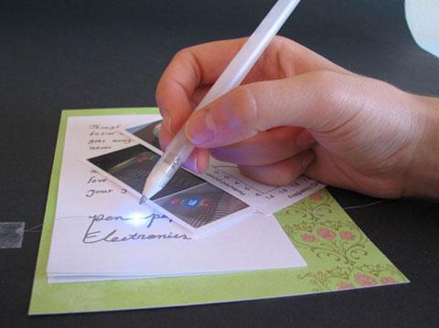 шариковая ручка с токопроводимостью