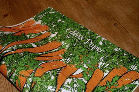 экологичная упаковочная бумага
