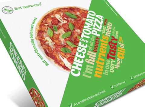 здоровая пицца