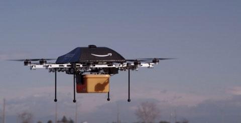 Amazon дроны