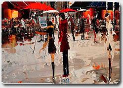 Яркая живопись ливийского художника Kal Gajoum (Кал Гаджум)