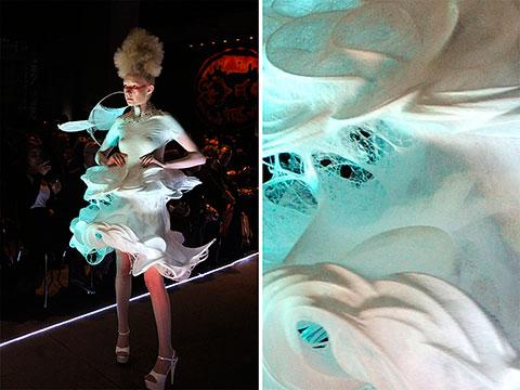 платье из баллончиков