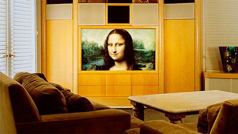 трансляция шедевров живописи по телевизору