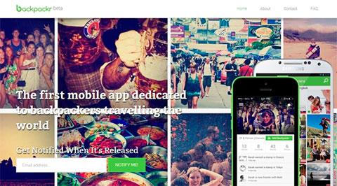 мобильное приложение Backpackr