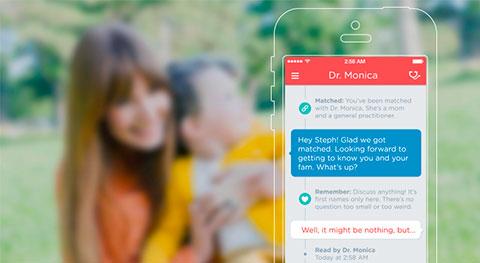 мобильное приложение First Opinion