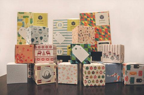 эко коробка для подарка