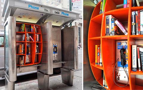 повторное использование телефонных будок
