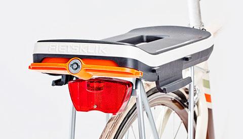 складной  контейнер для велосипеда