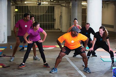 фитнес-сервис Fitmob