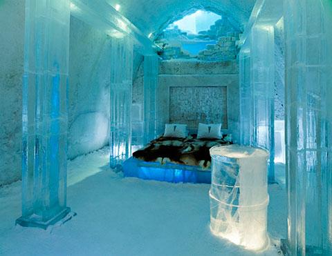 отель изо льда