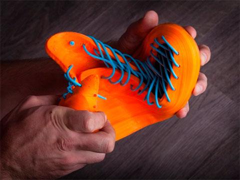 3D печатная обувь