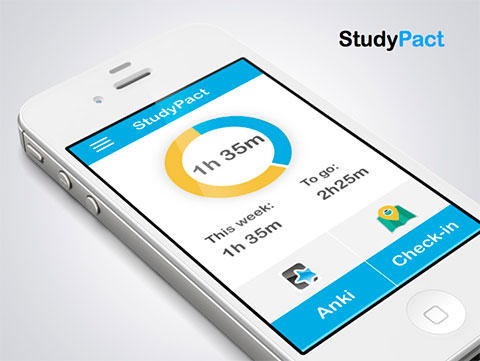 StudyPact приложение для студентов