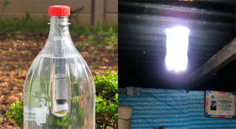 экологичный светильник Lightie