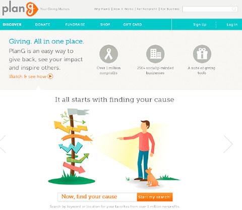 сайт благотворительных проектов