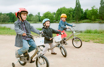 детские велосипеды в Париже