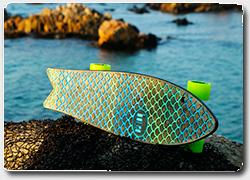 Бизнес идея №4961. Скейтборды из морского мусора – рыболовных сетей