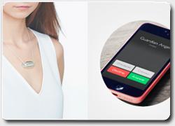 Бизнес идея №4958. Умное ожерелье для защиты дам